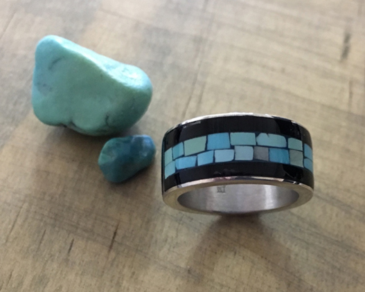 Turquoise Inlay Ring - from 2015